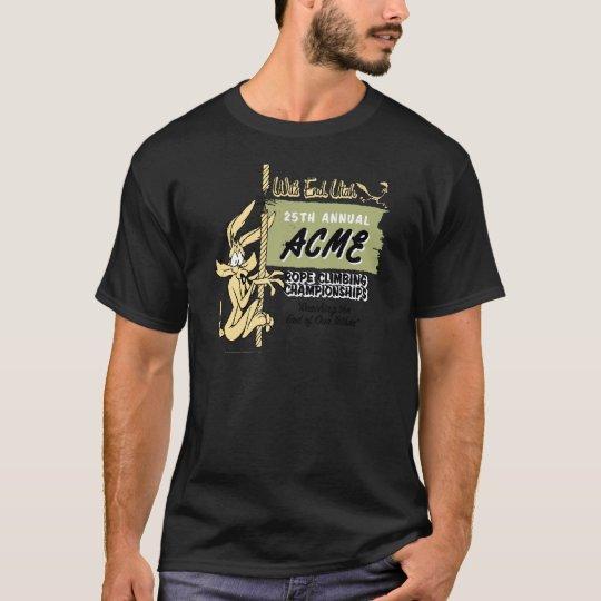 Wile E. Coyote Rope Climbing Championships T-Shirt