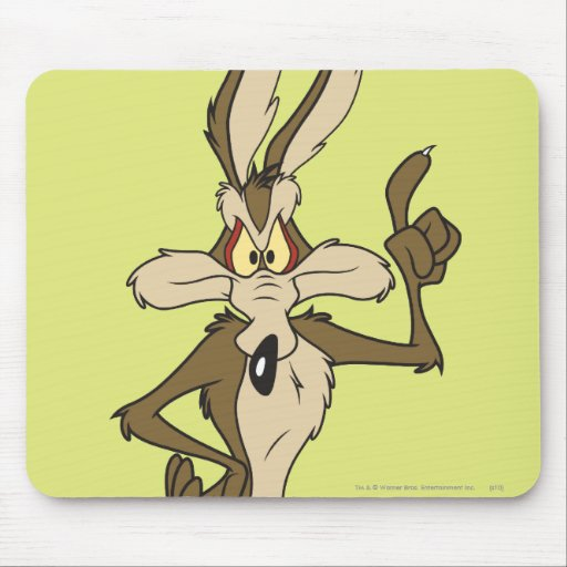 Wile E. Coyote Standing Tall Mousepad