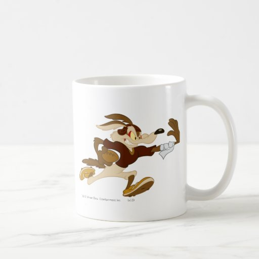 Zazzle Wile E Coyote Stiff Arm B/W 2 Coffee Mug