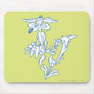 Wile E. Coyote Surprised by the ROAD RUNNER™ Mouse Pad