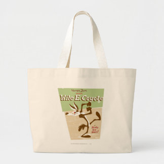 Wile Ready, Set, Zoom! Large Tote Bag