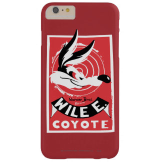 Wile Warner Bros. Presents poster Barely There iPhone 6 Plus Case