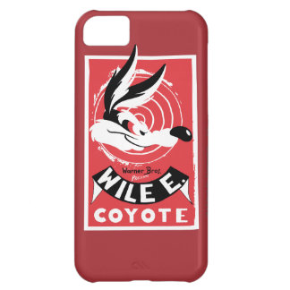 Wile Warner Bros. Presents poster Cover For iPhone 5C