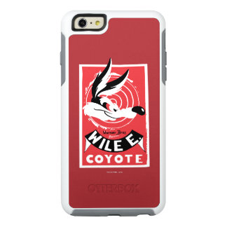 Wile Warner Bros. Presents poster OtterBox iPhone 6/6s Plus Case
