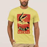 Wile Warner Bros. Presents poster T-Shirt