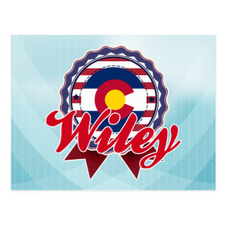 Wiley, CO Postales