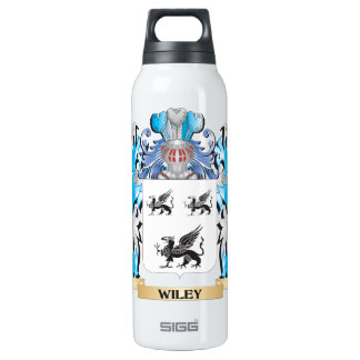 Wiley Coat of Arms - Family Crest 16 Oz Insulated SIGG Thermos Water Bottle