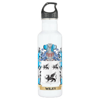Wiley Coat of Arms - Family Crest 24oz Water Bottle