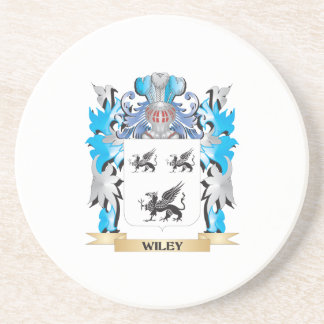 Wiley Coat of Arms - Family Crest Beverage Coasters