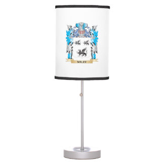 Wiley Coat of Arms - Family Crest Desk Lamps