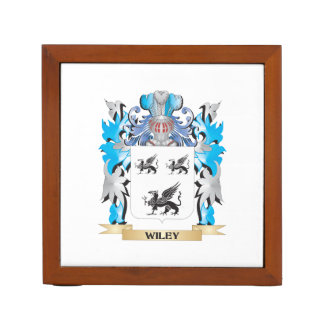 Wiley Coat of Arms - Family Crest Desk Organizers