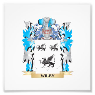 Wiley Coat of Arms - Family Crest Photo Print