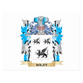 Wiley Coat of Arms - Family Crest Postcard