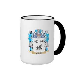 Wiley Coat of Arms - Family Crest Ringer Coffee Mug