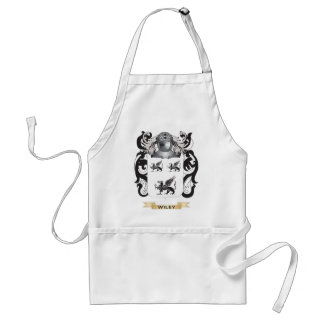 Wiley Family Crest (Coat of Arms) Adult Apron