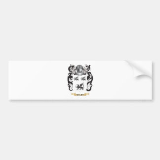 Wiley Family Crest (Coat of Arms) Car Bumper Sticker
