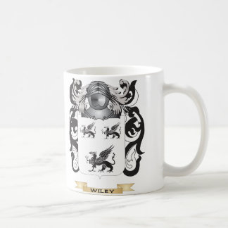 Wiley Family Crest (Coat of Arms) Classic White Coffee Mug