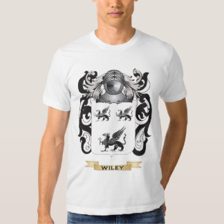 Wiley Family Crest (Coat of Arms) T-shirt