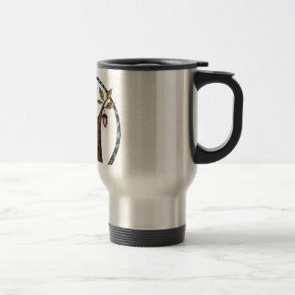 Wiley is a fox travel mug