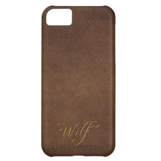 WILF Leather-look Customised Phone Case