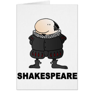 Wilf Shakespeare Card
