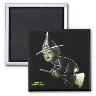 Wilga Witch 2 Inch Square Magnet