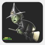 Wilga Witch Square Sticker