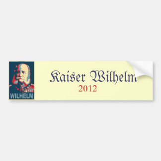Wilhelm 2012 Bumper Sticker