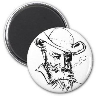 Wilhelm Busch Self Portrait Magnet