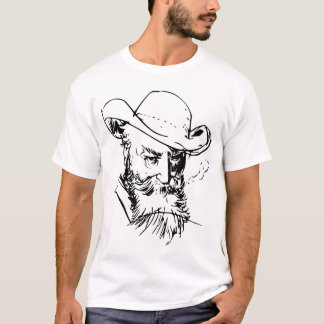 Wilhelm Busch Self Portrait T-Shirt