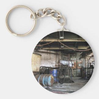 Wilhelm Chemie Basic Round Button Keychain