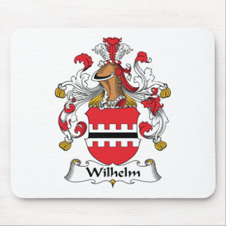 Wilhelm Family Crest Mouse Pad