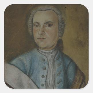 Wilhelm Friedemann Bach, c.1733 Square Stickers