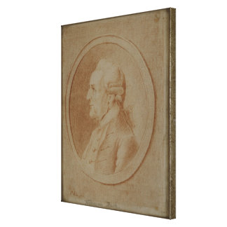 Wilhelm Friedrich Bach, 1782 Canvas Print