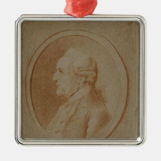 Wilhelm Friedrich Bach, 1782 Metal Ornament
