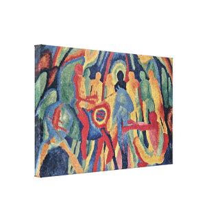 Wilhelm Hoegner - Entry of Christ into Jerusalem Canvas Print