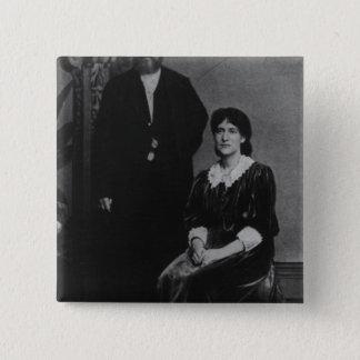 Wilhelm Liebknecht and Eleanor Aveling Pinback Button