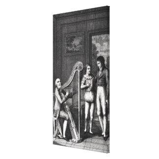 Wilhelm Meister's Apprenticeship' Stretched Canvas Print