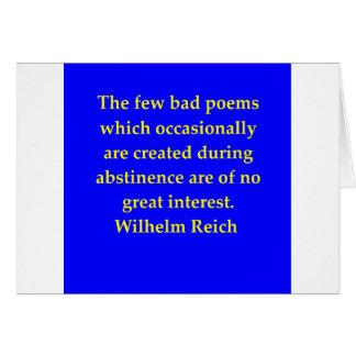 wilhelm reich quote cards