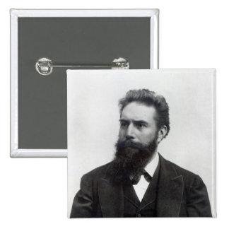 Wilhelm Rontgen Pin Cuadrado