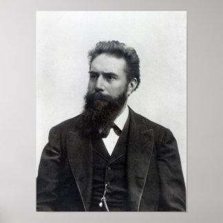Wilhelm Rontgen Póster