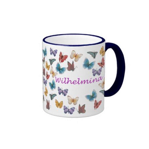 Wilhelmina Coffee Mugs