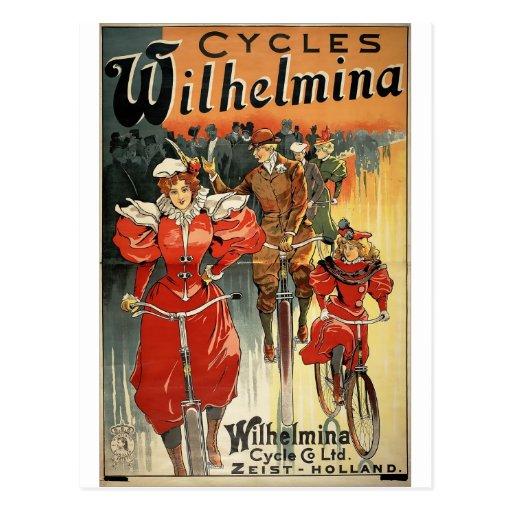 Wilhelmina completa un ciclo la publicidad de la b postal