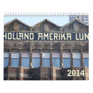 Wilhelminakade 2014 calendar