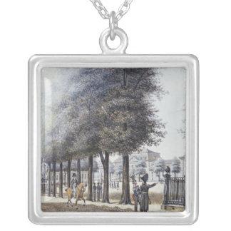 Wilhemsplatz, Berlin Silver Plated Necklace