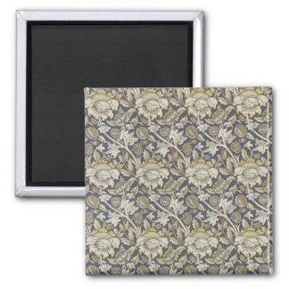 Wiliam Morris Art Card 6 2 Inch Square Magnet