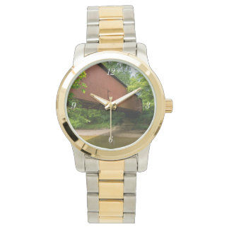 Wilkens Mill Covered Bridge Wrist Watch