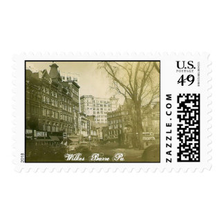 Wilkes-Barre Pa. Postage Stamp
