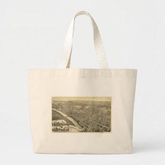 Wilkes-Barre, Pennsylvania (1889) Large Tote Bag
