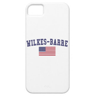 Wilkes-Barre US Flag iPhone SE/5/5s Case